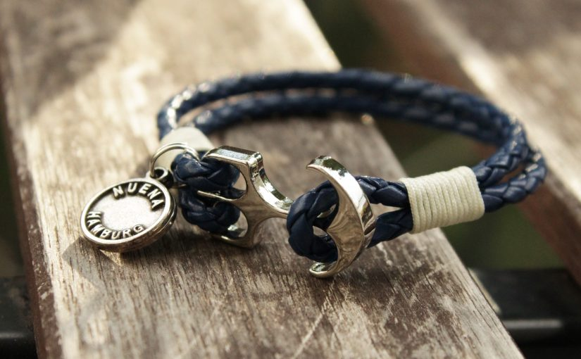 DIY: Zweireihiges Ankerarmband
